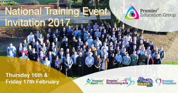 Book your place on the Premier Education Group National Training Event 2017
